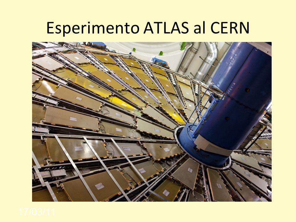 Esperimento ATLAS al CERN 17/03/11