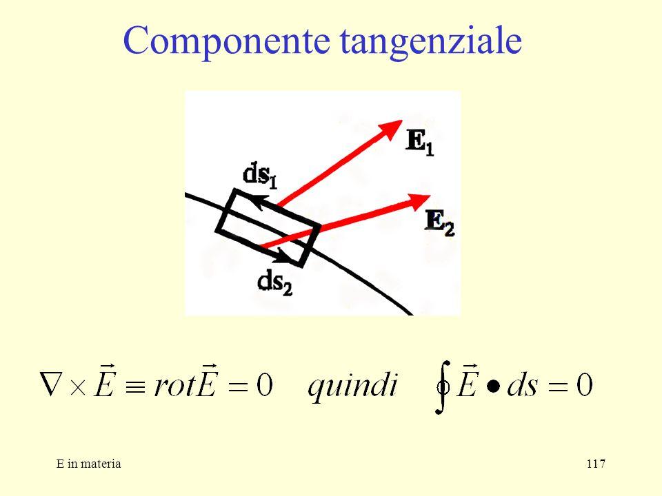 E in materia117 Componente tangenziale