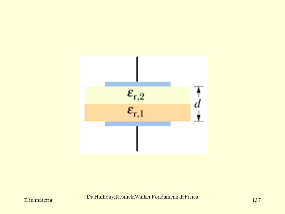 E in materia137 Da Halliday,Resnick,Walker Fondamenti di Fisica