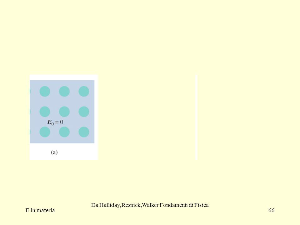 E in materia66 Da Halliday,Resnick,Walker Fondamenti di Fisica