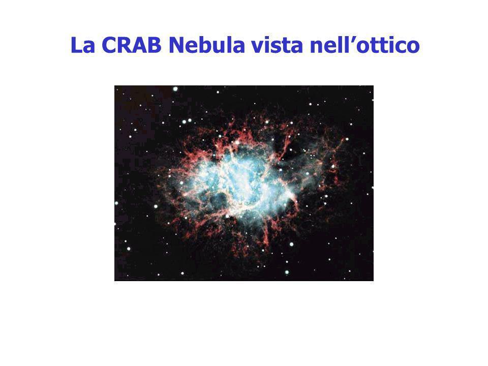 La CRAB Nebula vista nellottico