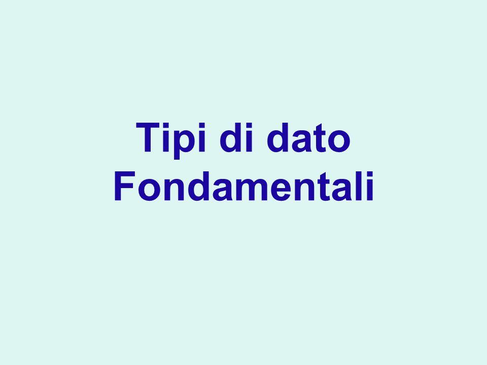 Concatenazione in output Utile per ridurre il numero di istruzioni System.out.print : è equivalente a System.out.print( The total is ); System.out.println(total); System.out.println( The total is + total);