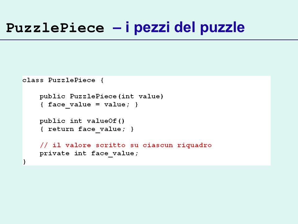 PuzzlePiece – i pezzi del puzzle