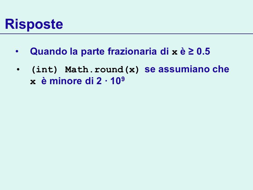 Array e varargs Gli array possono essere utilizzati per passare liste di parametri di dimensione variabile class Lists { public static ArrayList toList (T[] arr) { ArrayList list = new ArrayList (); for (T el : arr) list.add(el); return list; } Continua… Lists.toList (new String[] {hello, world!} ); Lists.toList(new Integer[] {1,2,3,4} ); Metodo parametrico