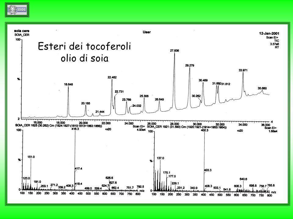 Esteri dei tocoferoli olio di soia
