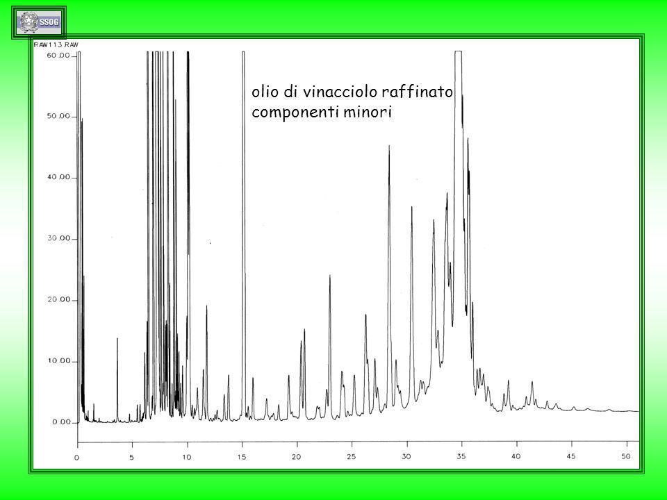 1rv olio di vinacciolo raffinato componenti minori