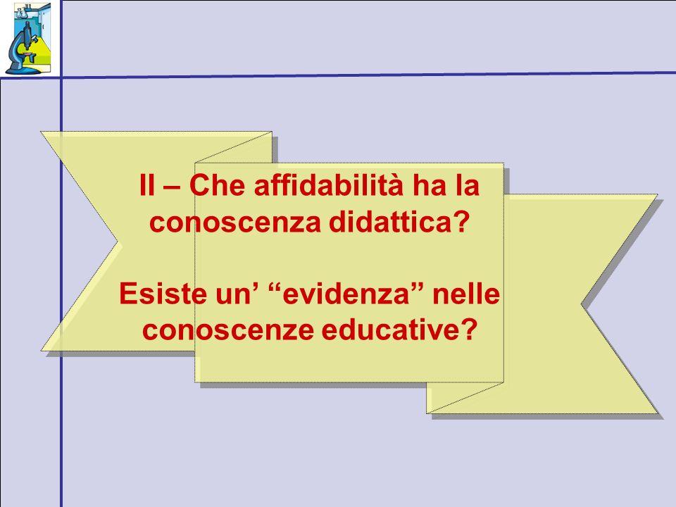 Un esempio: quanta guida istruttiva: due studi a confronto Studio n.