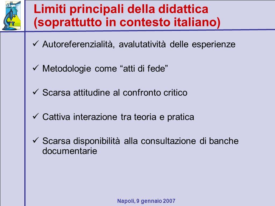 Napoli, 9 gennaio 2007 Dilemma.