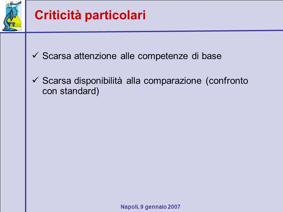 Napoli, 9 gennaio 2007 Soluzione di sintesi Strada consigliabile: problemi (relativamente) aperti con adattamento flessibile della guida, ossia…