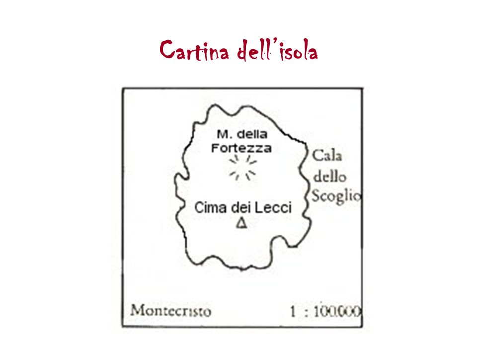Cartina dellisola
