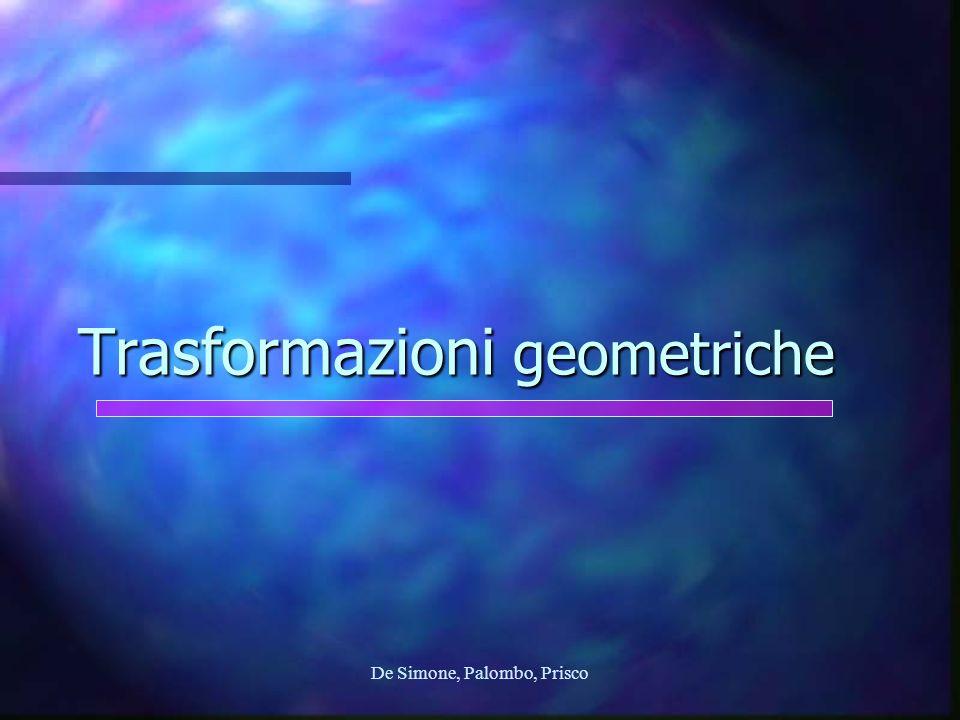 De Simone, Palombo, Prisco Trasformazioni geometriche
