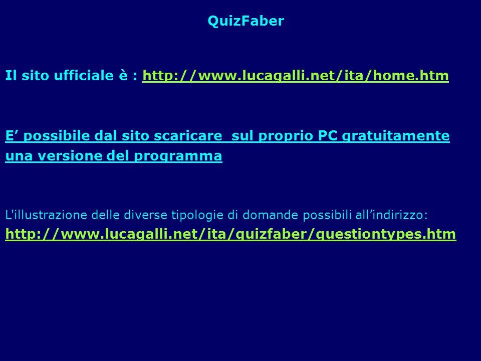 Il sito ufficiale è : http://www.lucagalli.net/ita/home.htmhttp://www.lucagalli.net/ita/home.htm E possibile dal sito scaricare sul proprio PC gratuit