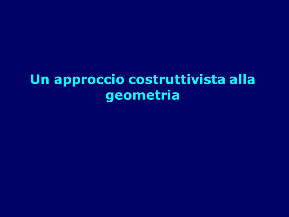La finestra di lavoro di Geogebra