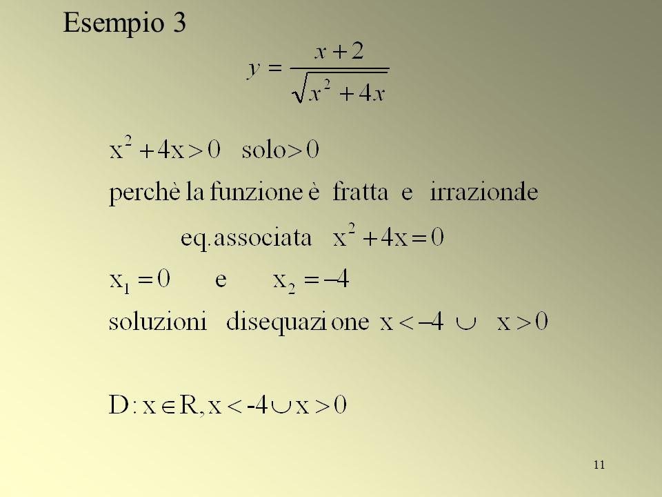 11 Esempio 3