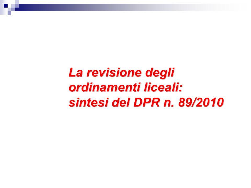ESEMPIO I nuovi Licei LINGUISTICO, disciplina LINGUA STRANIERA 2 cl.
