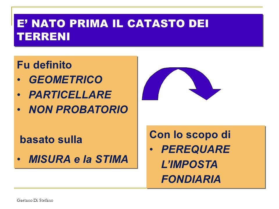 Gaetano Di Stefano oppure......un insieme di fabbricati: - industria - policlinico - ecc.