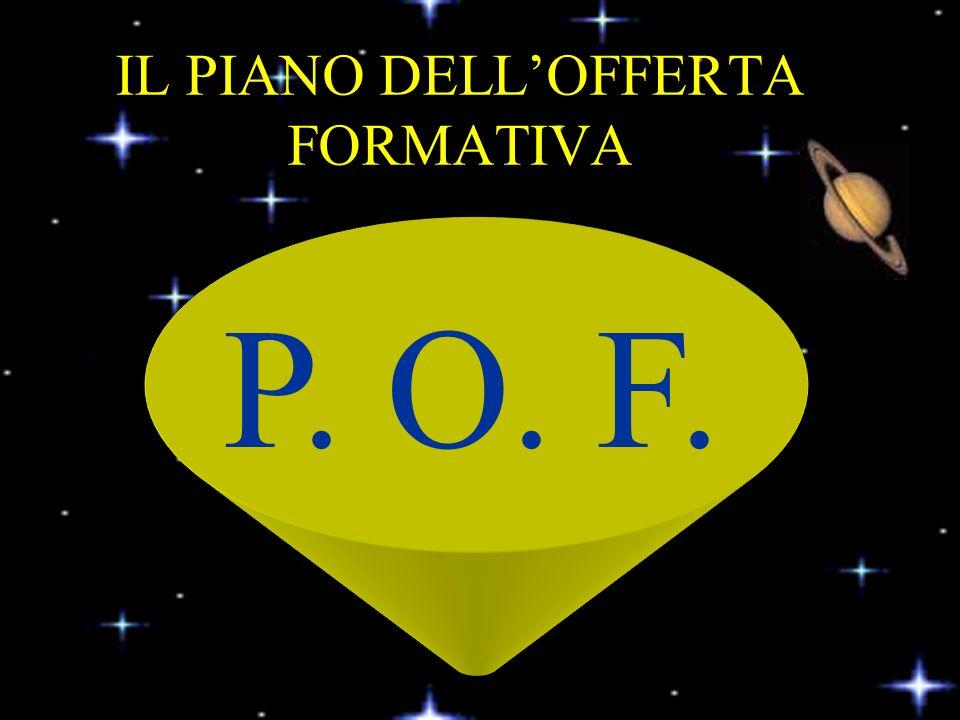 IL PIANO DELLOFFERTA FORMATIVA P. O. F.