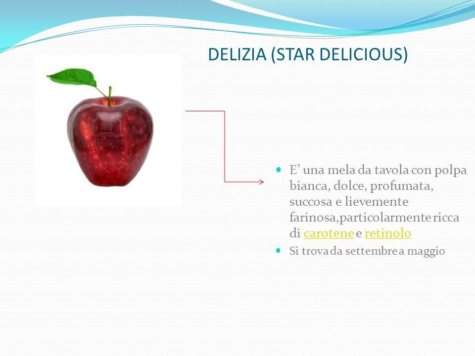 Golden Delicious È di origine americana, la Golden Delicious è una delle varietà tra le più diffuse e apprezzate dai consumatori.
