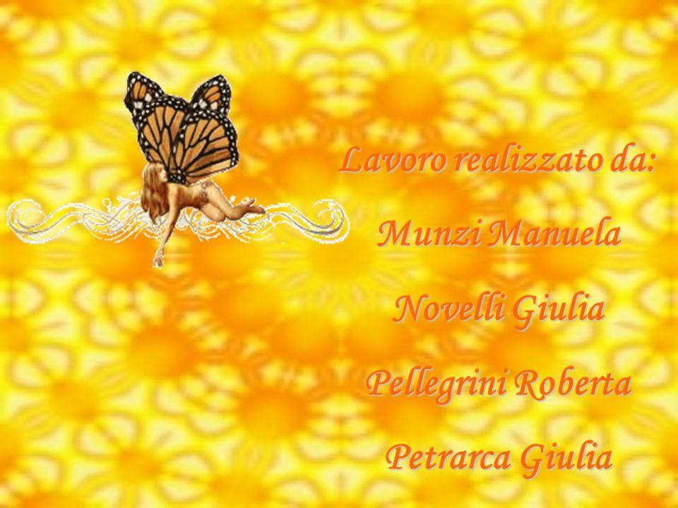 Lavoro realizzato da: Munzi Manuela Novelli Giulia Pellegrini Roberta Petrarca Giulia