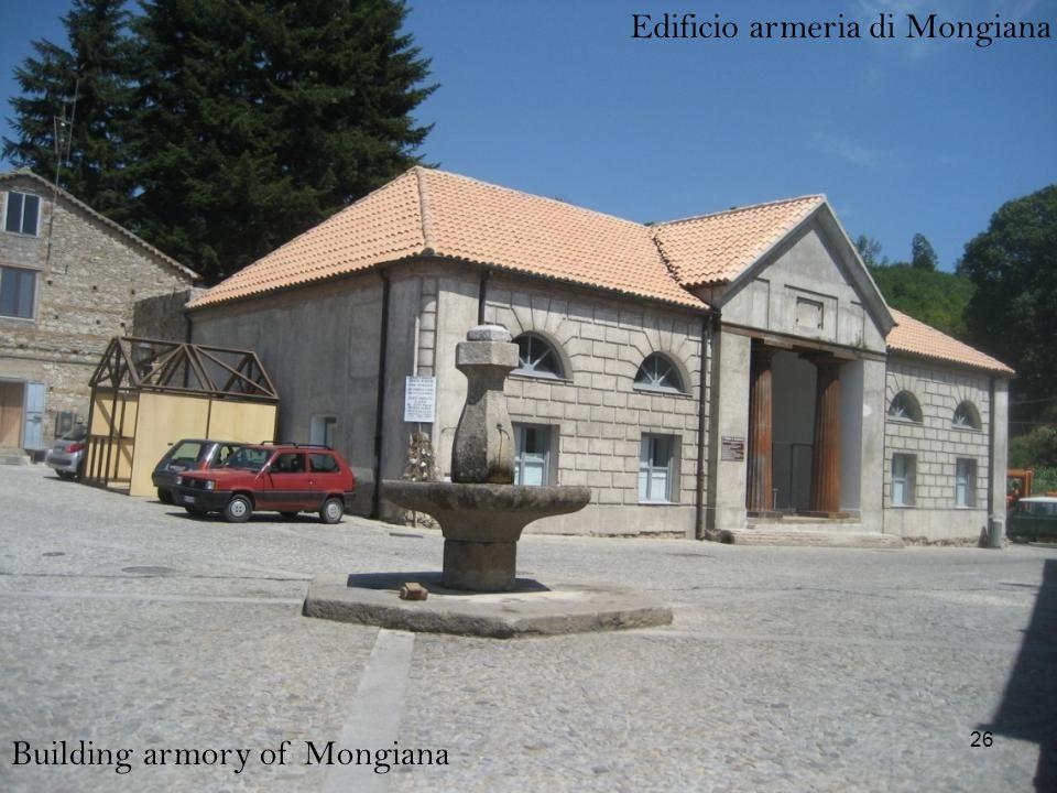 Edificio armeria di Mongiana Building armory of Mongiana 26