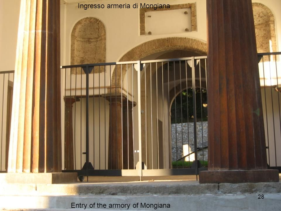 Entry of the armory of Mongiana Ingresso armeria di Mongiana 28