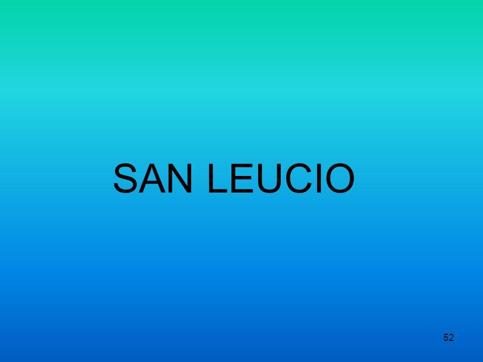 SAN LEUCIO 52