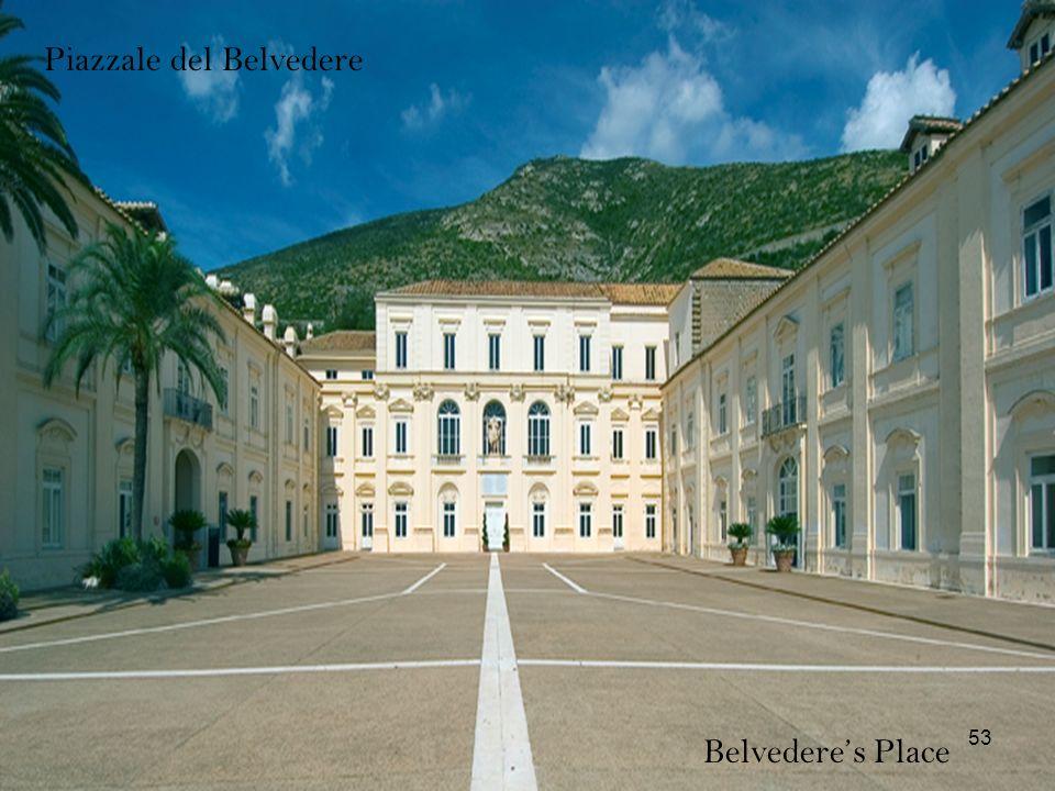 Piazzale del Belvedere Belvederes Place 53
