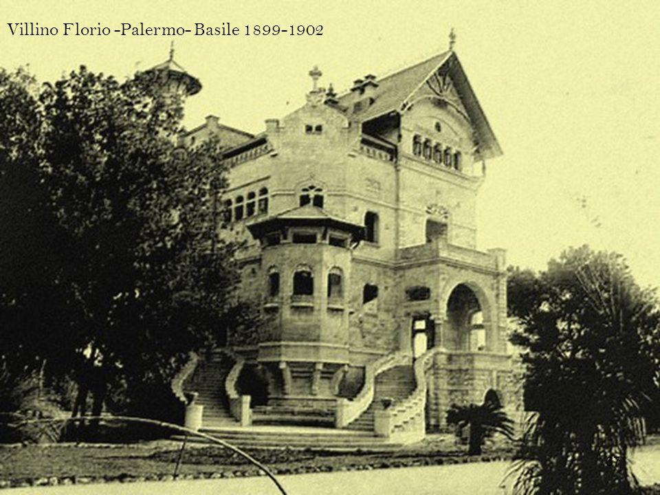 Villino Florio -Palermo- Basile 1899-1902 67