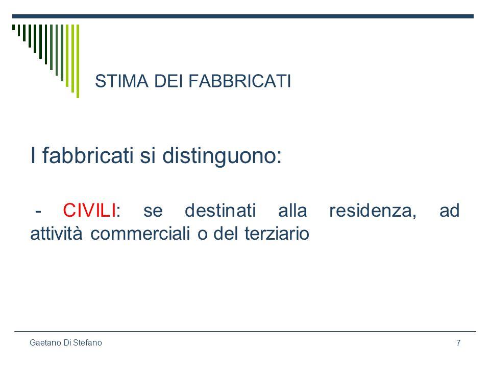 88 Gaetano Di Stefano segue Affinchè si possa applicare questo criterio estimativo occorre che la trasformazione sia: 1.