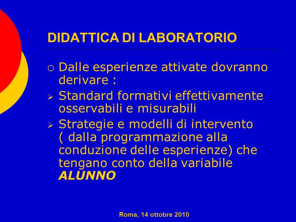 DIDATTICA DI LABORATORIO 1.