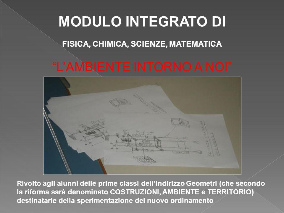 FINALITA Il modulo propone la progettazione, la realizzazione e lesercizio, da parte degli alunni, di una centralina meteo- ambientale bifunzionale: impiegabile sia come stazione fissa che mobile.