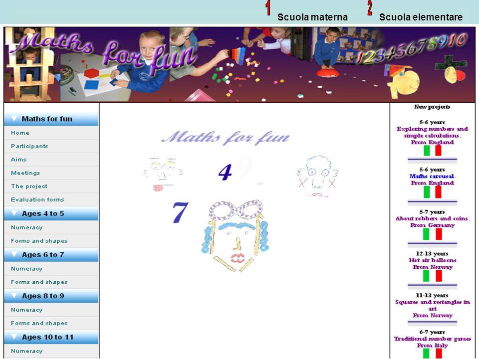 20 Scuola materna Scuola elementare