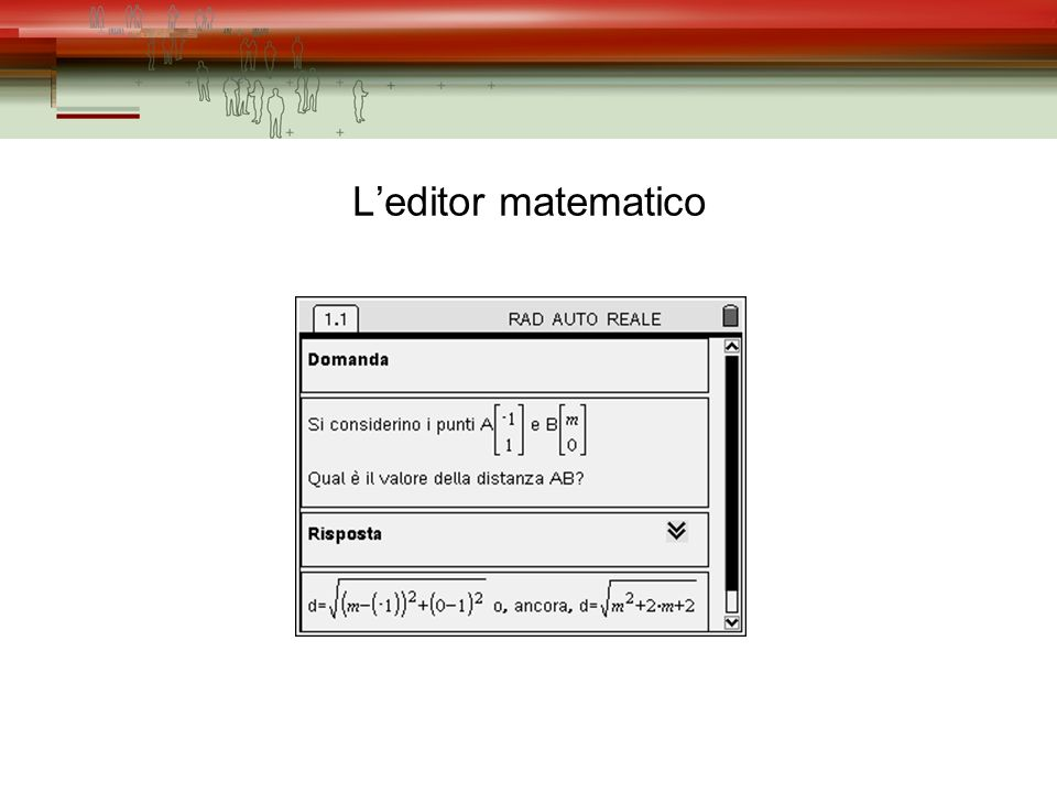 Leditor matematico
