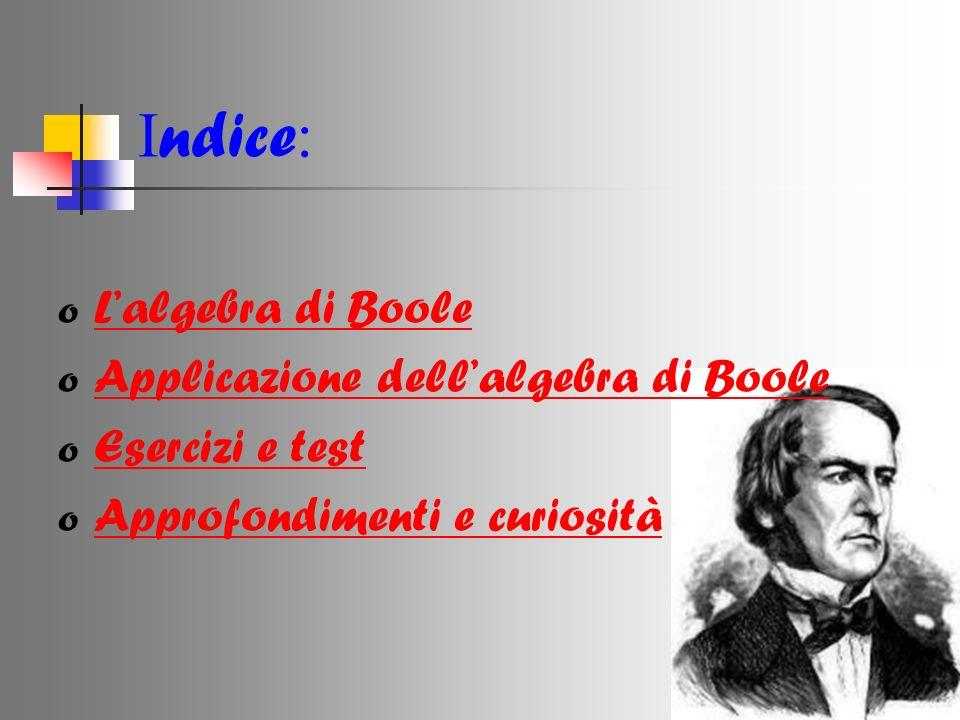 Chi era George Boole.Boole George nasce il 2 novembre 1815 a Lincolnshire in Gran Bretagna.