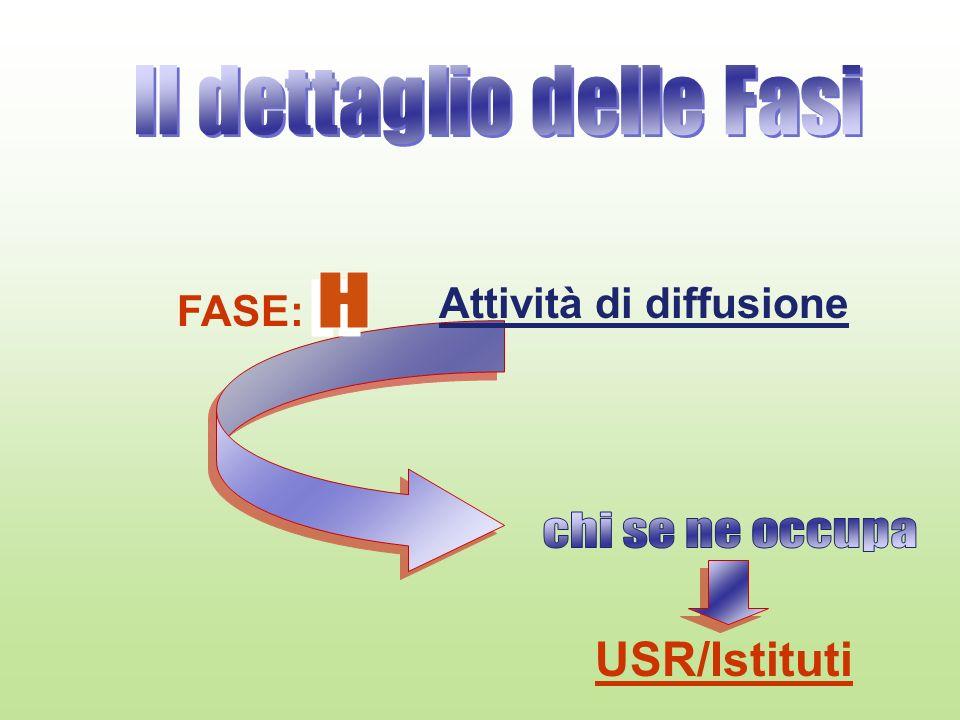 FASE: Attività di diffusione USR/Istituti