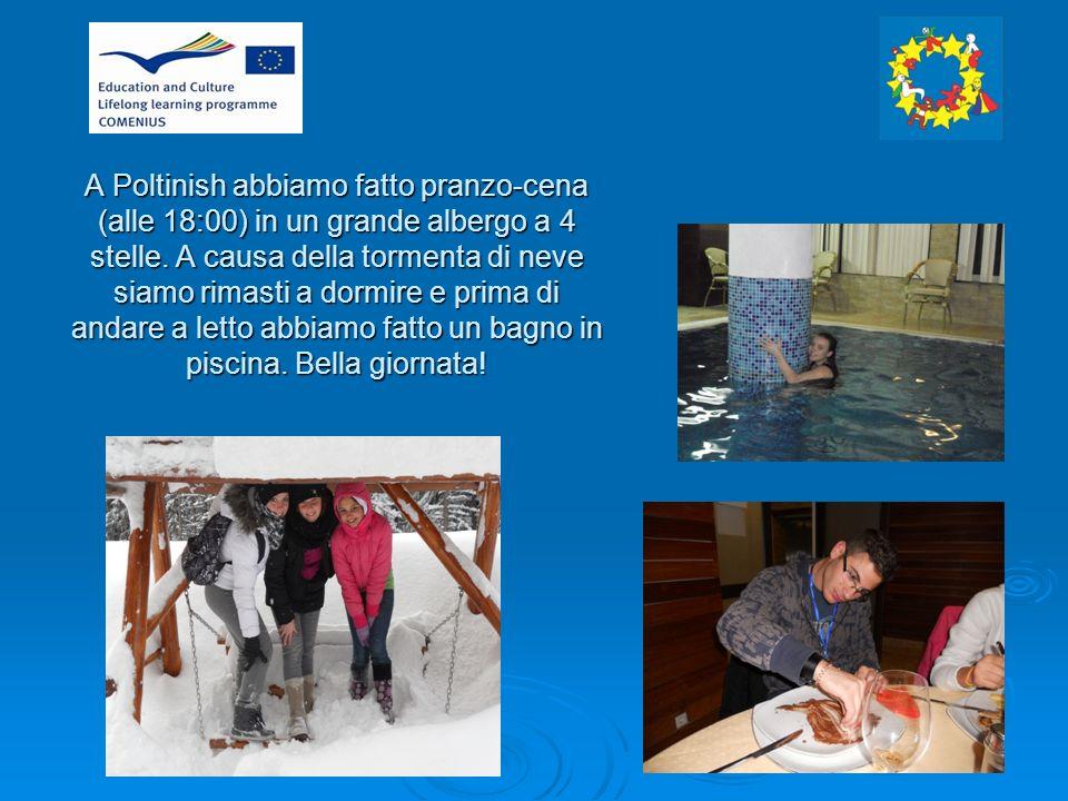 26/01/2012 Siamo tornati a Ramnicu Valcea dopo la colazione.