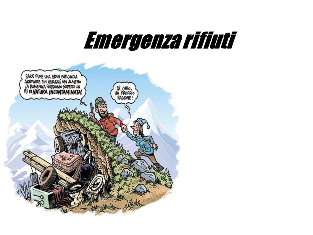 Ogni regione, si è impegnata a raggiungere una certa percentuale di rifiuti da riciclare, alla Sicilia toccava diminuire la produzione di rifiuti del 35% entro il 2010.