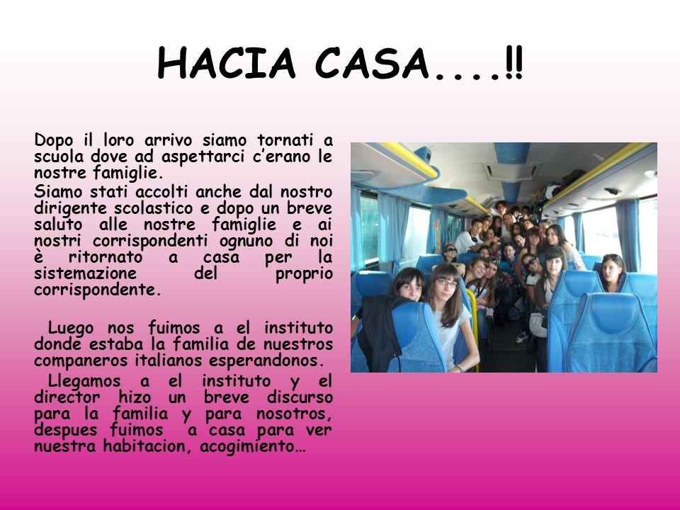 HACIA CASA....!.