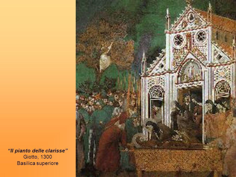 Nel 1257, le Clarisse lasciarono San Damiano e partirono alla volta della Chiesa di San Giorgio, prendendo con loro il Crocifisso.