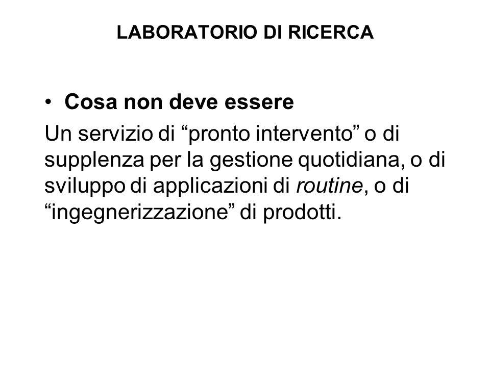 I quattro temi di ricerca del laboratorio: 1.Interfacce Uomo – Macchine Avanzate (Sede di Cagliari) 2.