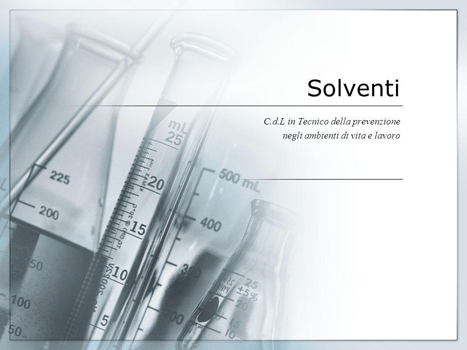 Solventi C.d.L in Tecnico della prevenzione negli ambienti di vita e lavoro