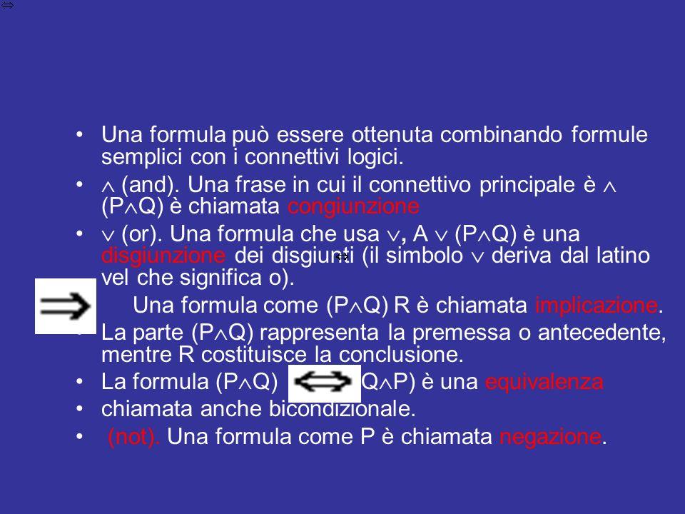 In molti casi la logica preposizionale non necessita di alcuna relazione per la rilevanza tra P e Q.