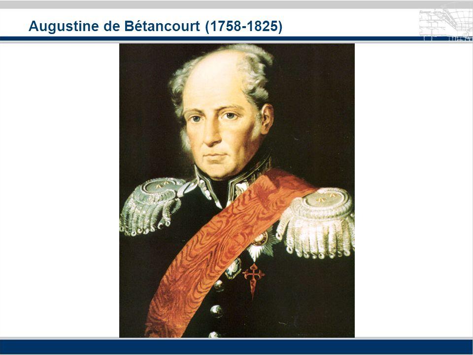 Augustine de Bétancourt (1758-1825)