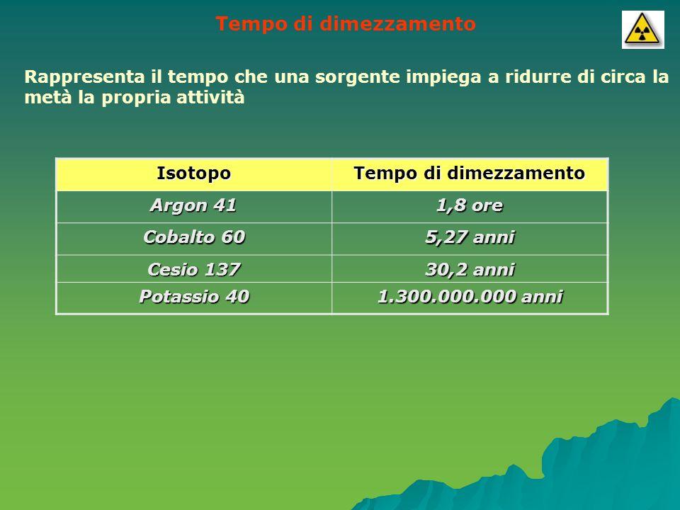 Tipi di radiazioni La disintegrazione del nucleo può provocare, lemissione di componenti di vario tipo, ne conseguono diverse forme di radioattività.