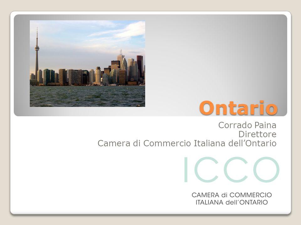 Ontario Corrado Paina Direttore Camera di Commercio Italiana dellOntario