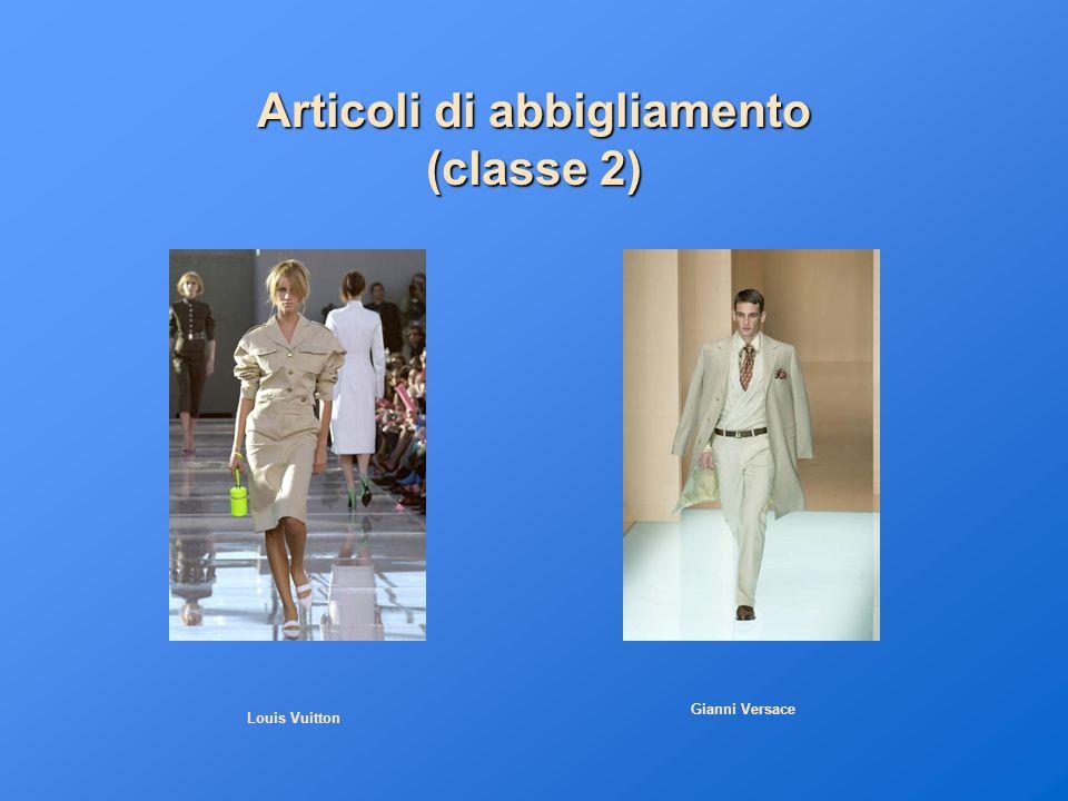 Articoli di abbigliamento (classe 2) Louis Vuitton Gianni Versace