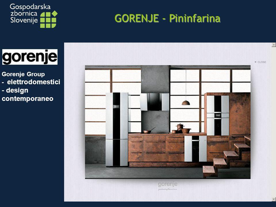 GORENJE - Pininfarina Gorenje Group - elettrodomestici - design contemporaneo