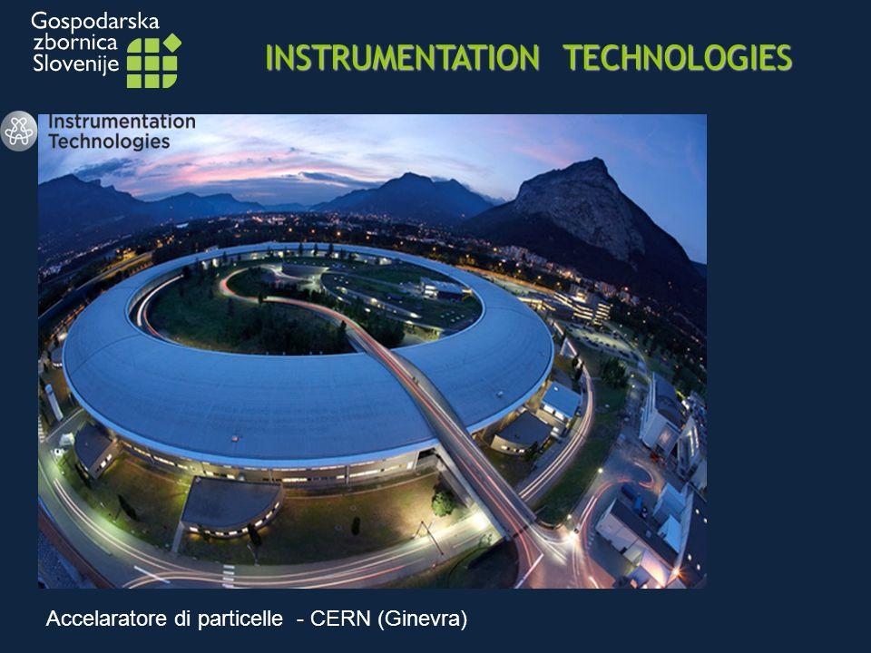 INSTRUMENTATION TECHNOLOGIES Accelaratore di particelle - CERN (Ginevra)