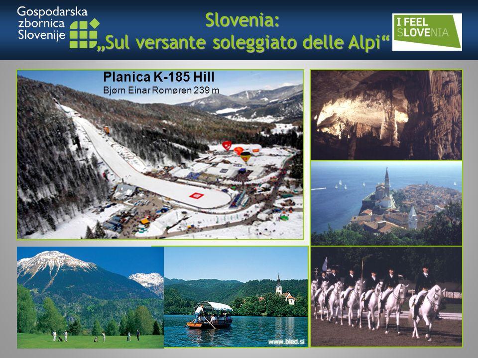 Slovenia: Sul versante soleggiato delle Alpi Planica K-185 Hill Bjørn Einar Romøren 239 m