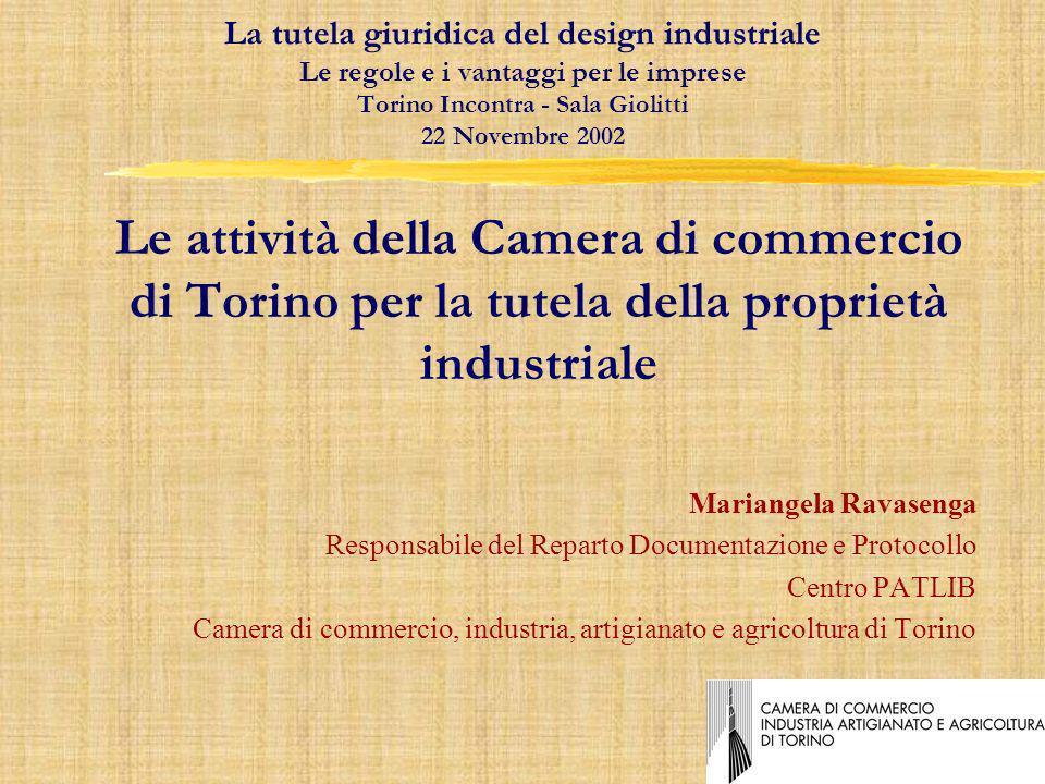 Di fatto, il PATLIB di Torino è il punto di riferimento per le altre 5 CCIAA piemontesi per le ricerche brevettuali (e non) necessarie alla rispettiva utenza.
